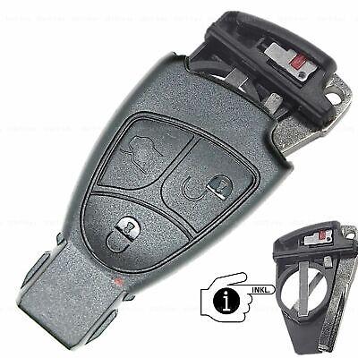 Schlüssel Ersatz Gehäuse für Mercedes A B C CLS E CLK G S SL SLK SLR Klasse Vito