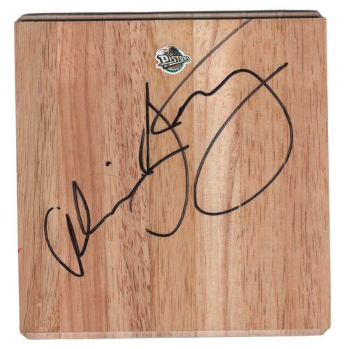 Alvin Gentry Detroit Pistons Signed Basketball Floor Board Proof Autograph COA