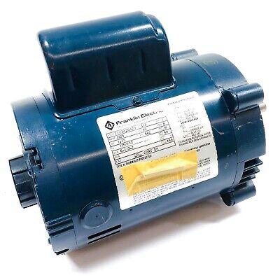 Franklin Electric 4101020423 Motor 13hp 1725rpm 115230v Single Phase 60hz 56c