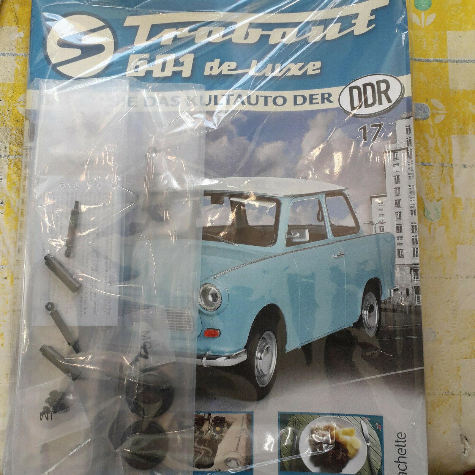 Modellbausammlung Nr Trabant 601 de luxe 17
