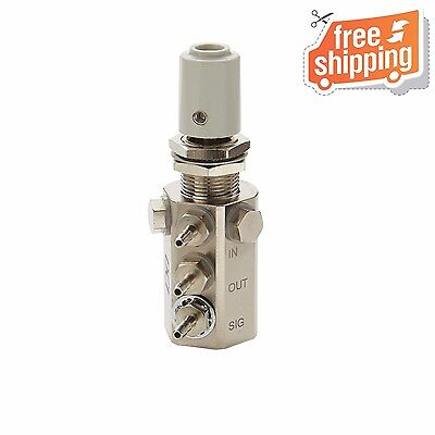 Water Relay Combo Valve with Gray Knob and Double Barb Swivel DCI #7302