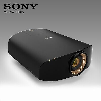 Sony VPL-VW1100ES Native  4K 3D SXRD Projector Excellent condition