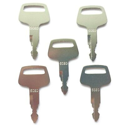 5 Ihi Skid Steer And Excavator Heavy Equipment Ignition Keys 5080