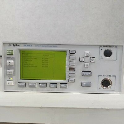 Used Agilent E4416a - Epm-p Series Power Meter 9khz To 110ghz