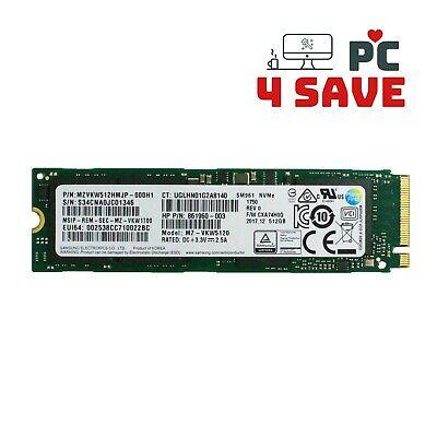 Samsung OEM 512GB M.2 NVMe PCIe 3.0 x 4 SSD Solid State Drive MZVKW512HMJP
