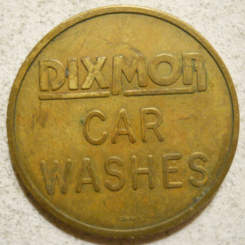 Dixmor Carwashes (Littleton, Colorado) token - CO6200D
