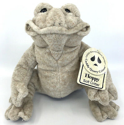 Cuddly Quarry Critters Floppy Frog Plush by Second Nature Design 8in 2003 Tags for sale  Canada