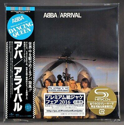 ABBA Arrival plus 2 BONUS Tracks! Orig. 2016 JAPAN Mini LP SHM-CD UICY-77952 NEW