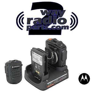 Motorola RLN6554A Bluetooth Wireless Remote Speaker Mic KIT APX6000 APX7000 New!