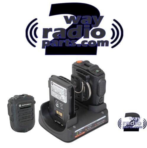 Motorola MotoTRBO Bluetooth Wireless Remote Speaker Mic KIT XPR5550 XPR7550 New!
