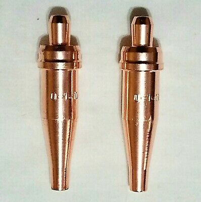New Victor Style 0-1-101 Acetylene Cutting Torch Tip Lot Of 2 St2600fc Ca2460