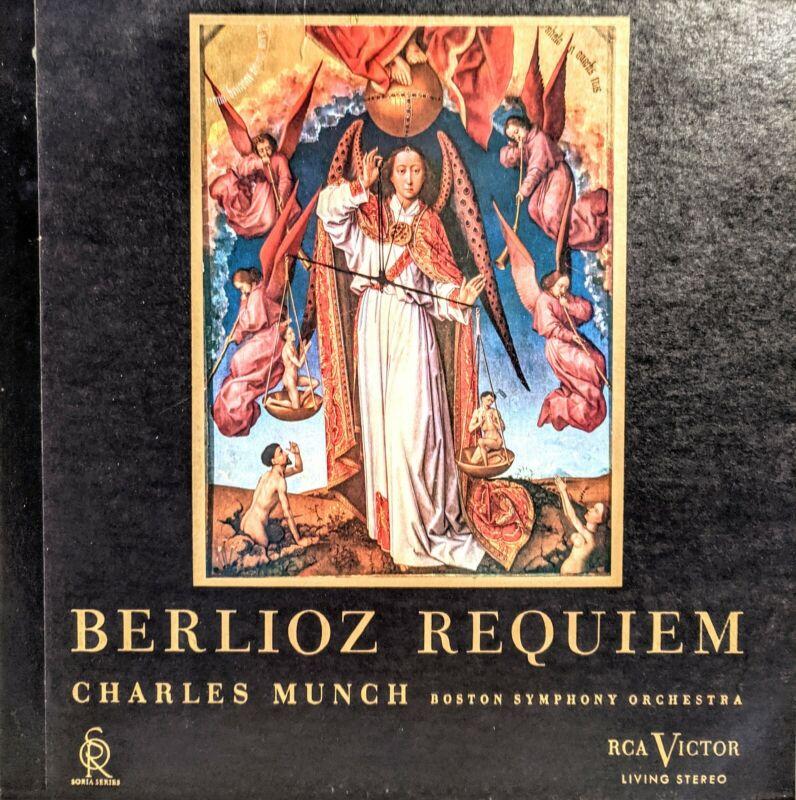 [EX 2 LP SET] BERLIOZ REQUIEM CHARLES MUNCH BOSTON SYMPHONY ORCHESTRA