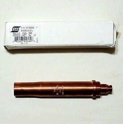 New Oxweld Esab Series 1427 No. 12 Cutting Torch Tip C-43 66-1400 67-1400