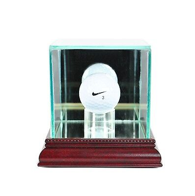 *NEW Golf Ball Glass Display Case PGA Hole In One FREE SHIPPING Made in the USA - One Ball Display Case