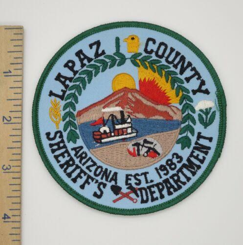 LAPAZ COUNTY ARIZONA SHERIFF