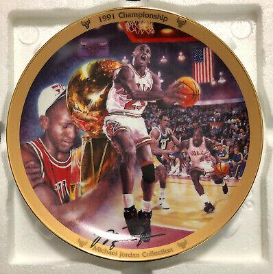 Michael Jordan Bradford Exchange MJ Collection Plate #1