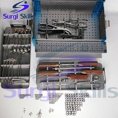 Orthopedics Veterinary Mini-micro Fragment System Kit 1.5mm 2.0 2.7 3.5 4.0
