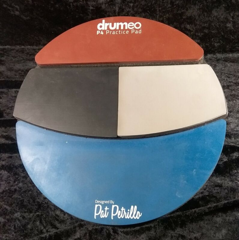 "Drumeo P4 Practice Pad ""The Most Versatile Practice Pad In The World"""