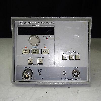 Parts - Agilenthp 83592b -002 Rf Plug-in