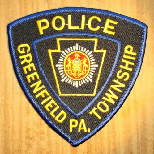GEMSCO NOS Vintage Collectible Patch POLICE GREENFIELD PA - Original 25+
