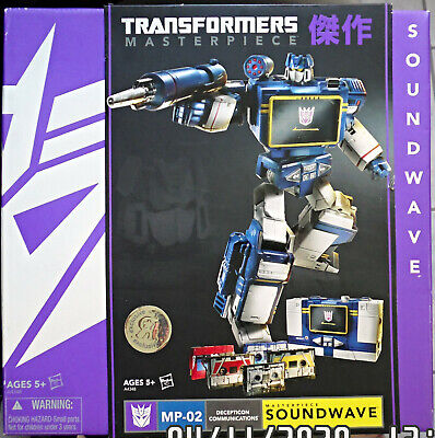 2013 Toys R Us Exclusive Hasbro G1 Transformers Masterpiece Soundwave MP-02 NY