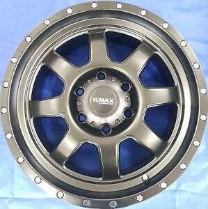 SET OF FOUR (4) G-MAX 17x8.5 6/139.7 et30 ACTIVE Springvale Greater Dandenong Preview