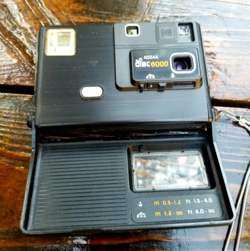 Rare Vintage Kodak Disk 6000 Camera Outfit with Instructions and Original Box!