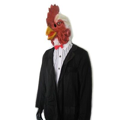 Unique Adult Costumes (Rooster in Tuxedo Funny Prom Cock Chicken MORP Unique Adult Halloween Costume)