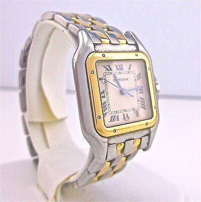 Cartier - Panthere - Unisex Watch - 18K Gold & SS - 83083242 ~#3003
