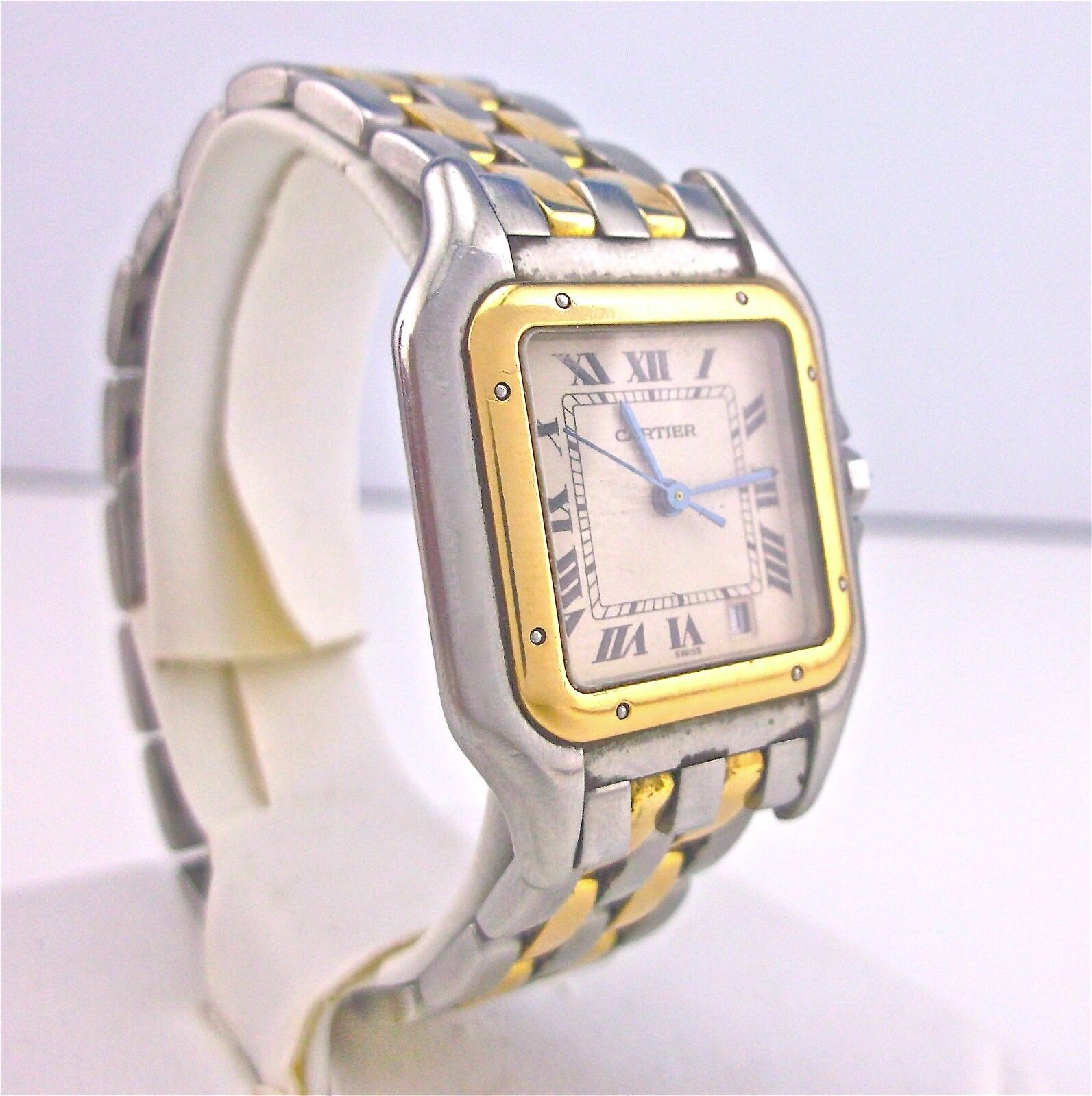 $1200.00 - Cartier - Panthere - Unisex Watch - 18K Gold & SS - 83083242 ~#3003