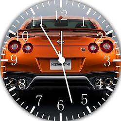 Nissan GTR wall Clock 10 will be nice Gift and Room wall Decor E193