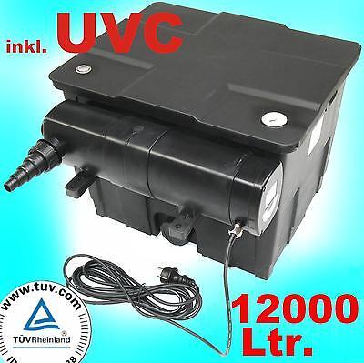Pond Bio Teichfilter CBF 350 + UVC 36 Watt Lichtfilter Koiteich Algenstop Filter