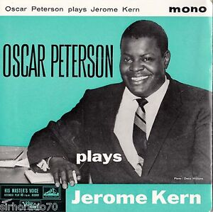 OSCAR-PETERSON-Plays-Jerome-Kern-U-K-EP-Mono-1960