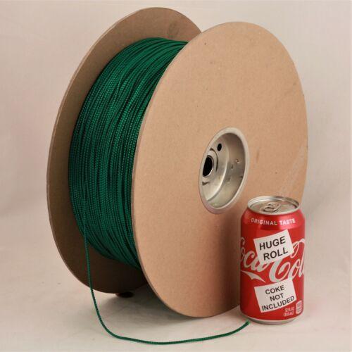 BULK LOT Green Metallic #04 Needloft Nylon Craft Cord - 4,500 feet! USA