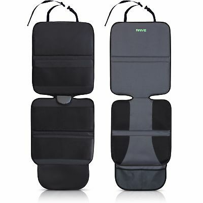 Car Seat Protector With New Neoprene Backing  2 Pack  Gray  Drive Auto Products