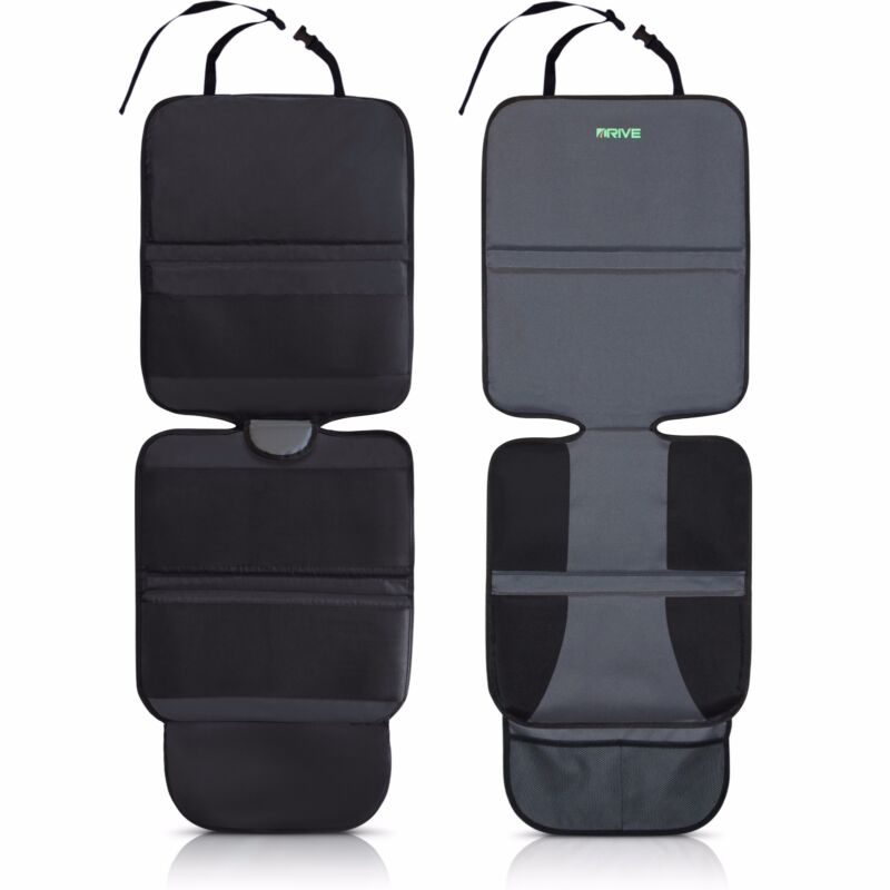 Car Seat Protector NEW Universal Cover Pad, 2-Pack (Gray) Drive Auto Products™