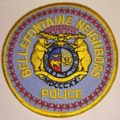 Bellefontaine Neighbors Missouri Police Patch // FREE US SHIPPING!