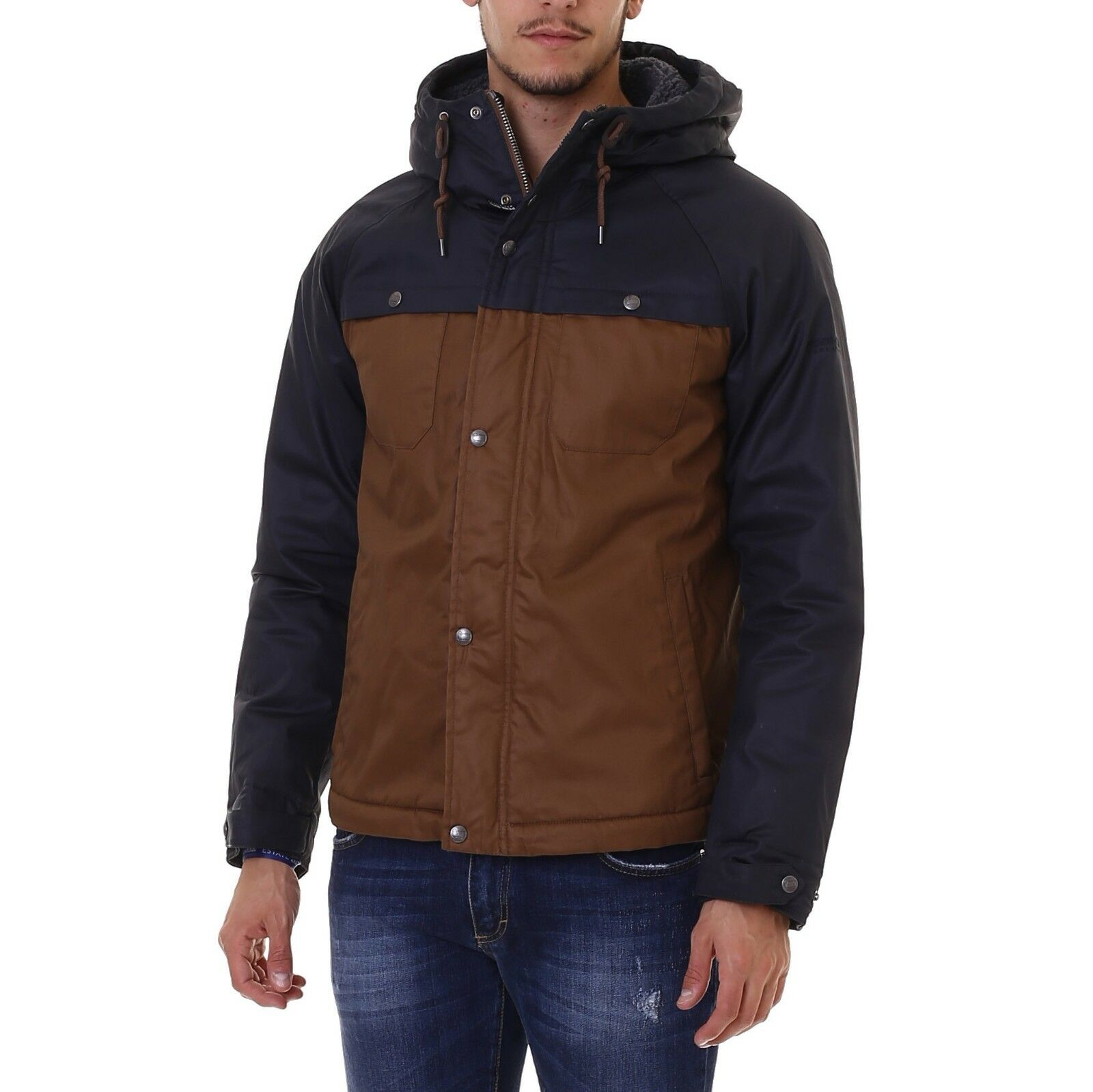 SCONTO 20% PENN-RICH WOOLRICH BROKEN TWILL JACKET GIACCA COTONE CERATO GIACCONE