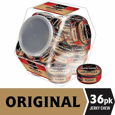 Jack Links Jerky Chew, Original Flavor, 0.32-Ounce (Pack of 36) Pack of 36 - Jack Links Chew