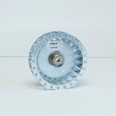 Fasco 1-6113 Squirrel Cage Blower Wheel 3-2732 X 1 X 14 Bore Cw 5800 Rpm