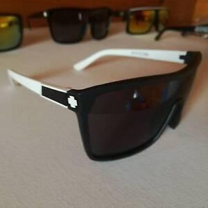 Spy Sunglasses - FLYNN MODEL - Blk/Wht - Blk/Blk - Blk/Zebra Bankstown Bankstown Area Preview