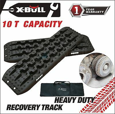 X-BULL Recovery Traction Off Road Tracks Sand Snow Track Tire Ladder 4WD Black