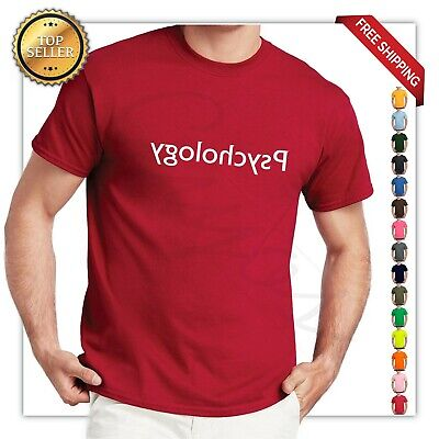 Reverse Psychology Funny T Shirt College Humor Funny Party  geek Tee -