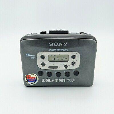 SONY Walkman WM-FX421 FM/AM Radio Cassette Player Tested