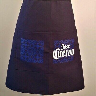 Jose Cuervo 2 Pocket Waist Apron Bar Restaurant Waiter Waitress Barista Unisex