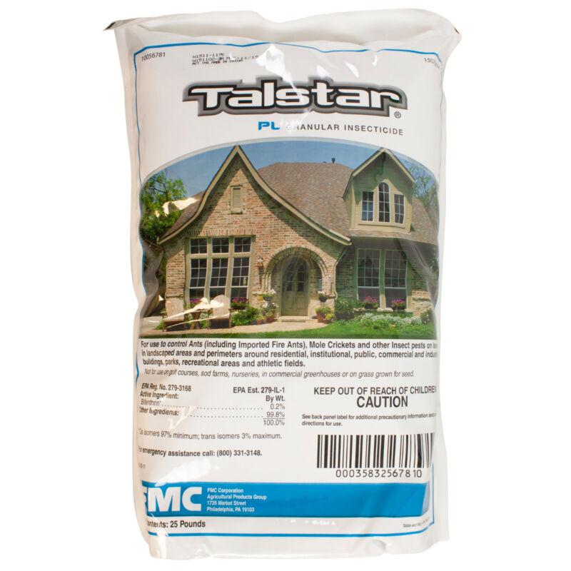 Talstar PL Granules (25 Lbs) Bifenthrin Yard Insect Killer Ant Flea Tick Cricket