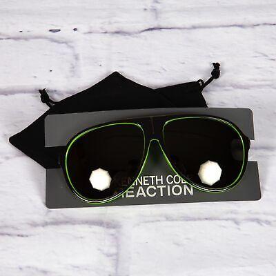 Kenneth Cole Reaction Men's Aviator Style Sunglasses Eyewear Lime (Lime Green Aviator Sunglasses)