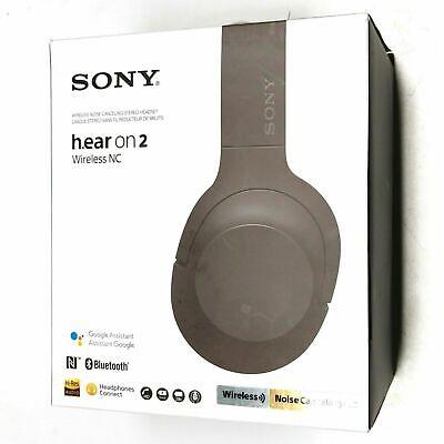 Sony h.ear on 2 Wireless WH-H900N Grayish Black Headband Headset