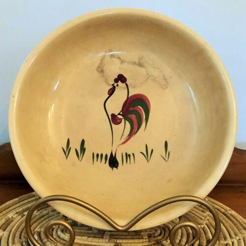 Watt Pottery Rooster Spaghetti Bowl HTF!
