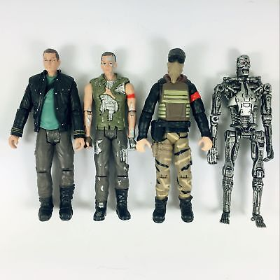 Terminator 4 John Connor (4pcs Terminator Salvation  Battle Damage JOHN CONNOR  Marcus T-700)